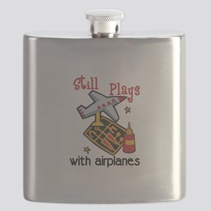Still Plays with airplanes Flask